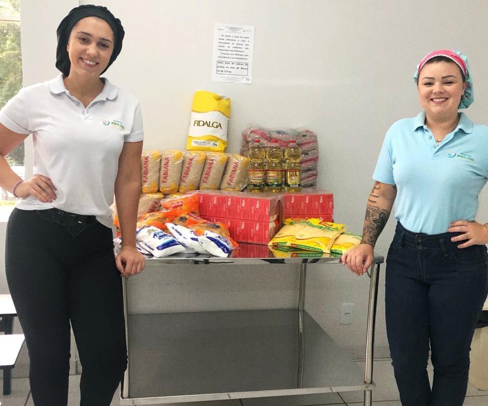 Campanha do Materno evita desperdício de alimento