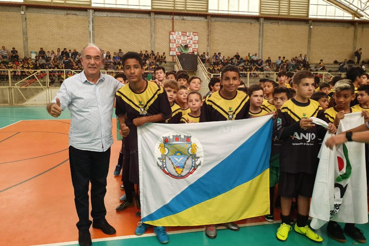 Arroio do Silva presente no Festival Anjos do Futsal da Unesc