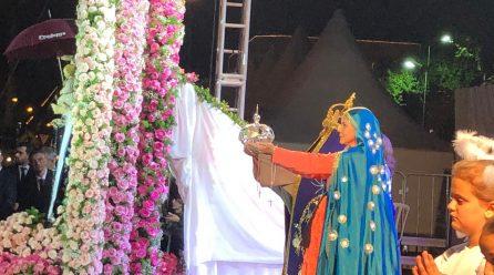 Cinco mil pessoas na coroação da padroeira de Araranguá