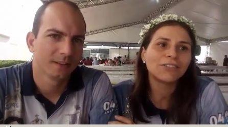 Entrevista exclusiva com casal coordenador da festa