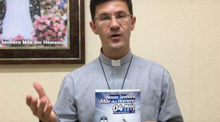 Padre Alírio faz convite para a Festa da Padroeira