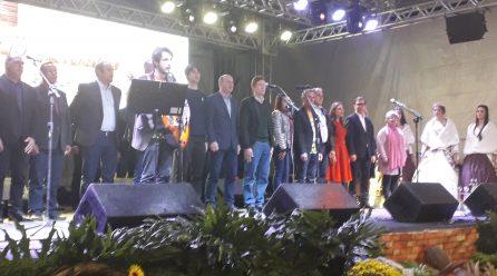 Prefeito Lale deu por aberta a 28ª edição da Festa do Colono de Maracajá