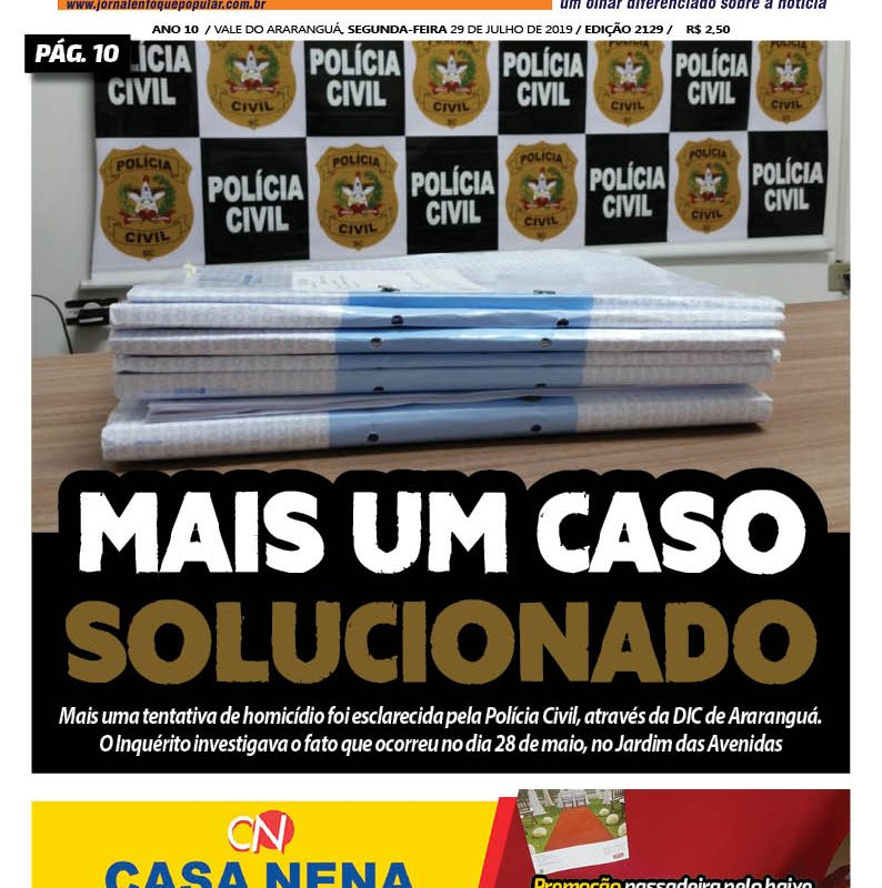 Jornal Enfoque Popular – Edição 29-07-2019