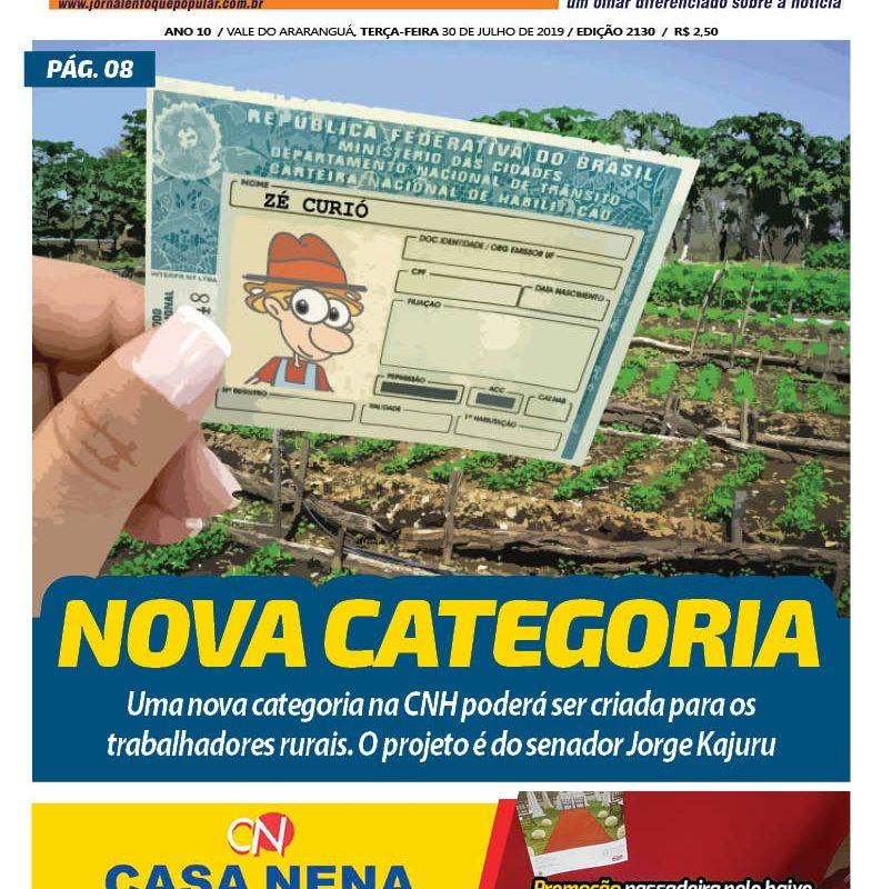 Jornal Enfoque Popular – Edição 30-07-2019