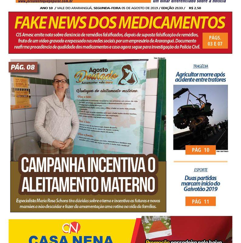 Jornal Enfoque Popular – Edição 05-08-2019