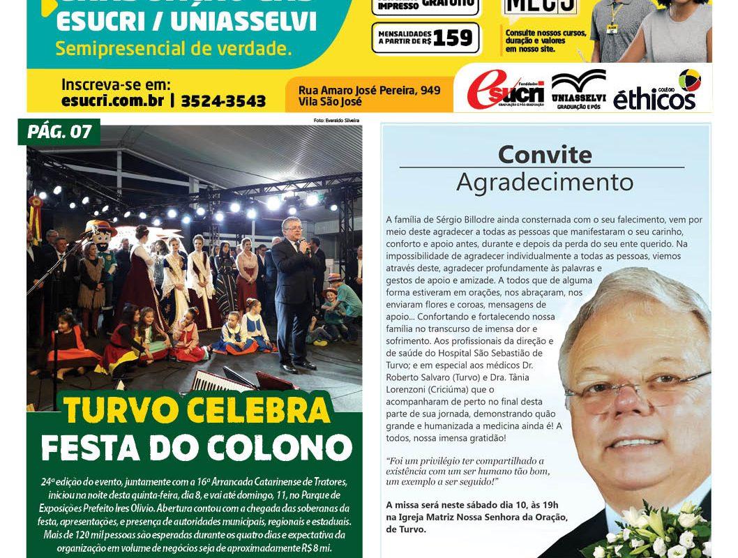Jornal Enfoque Popular -Edição 8 à 11 de agosto