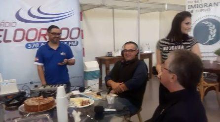 Tiago Zilli participa do programa ao vivo da Rádio Eldorado