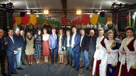 Festa do Colono homenageia família Giusti