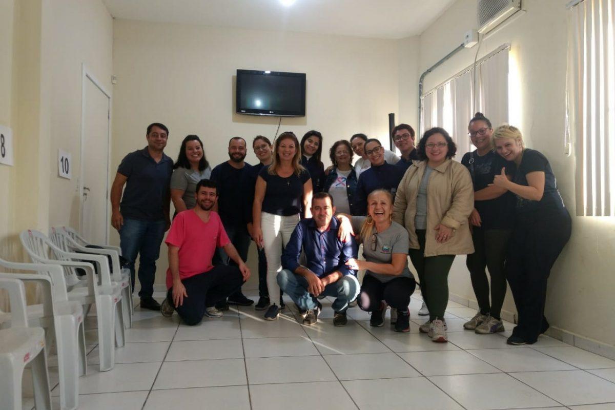 Servidores de Balneário Gaivota realizaram gincana do peso