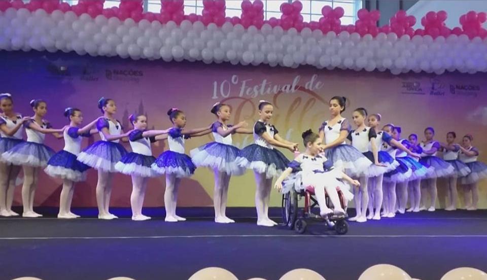 Casa da Fraternidade participa do 10º Festival de Balé Infantil