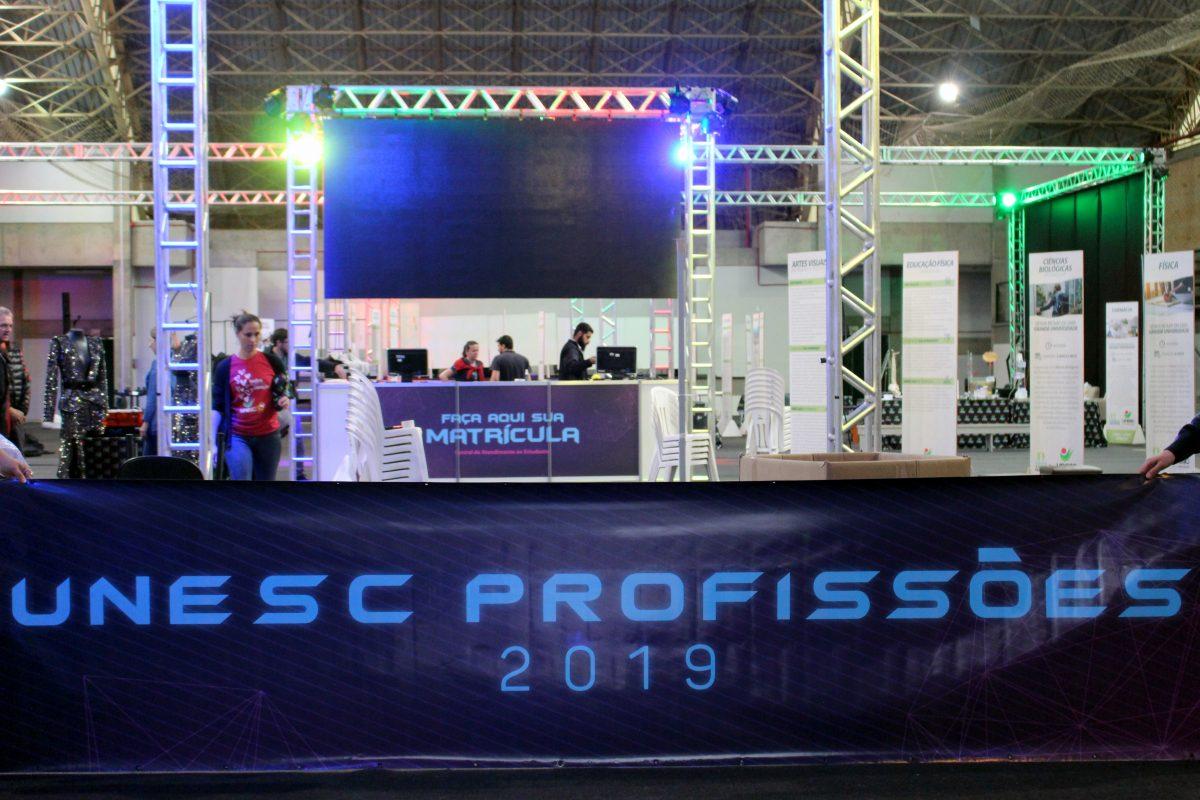 Unesc Profissões 2019: A expectativa é receber mais de 6 mil estudantes