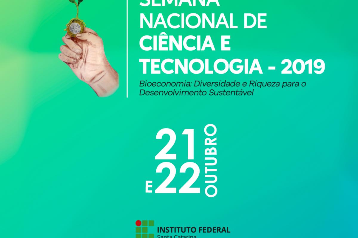 IFSC Araranguá: Semana Nacional de Ciência e Tecnologia