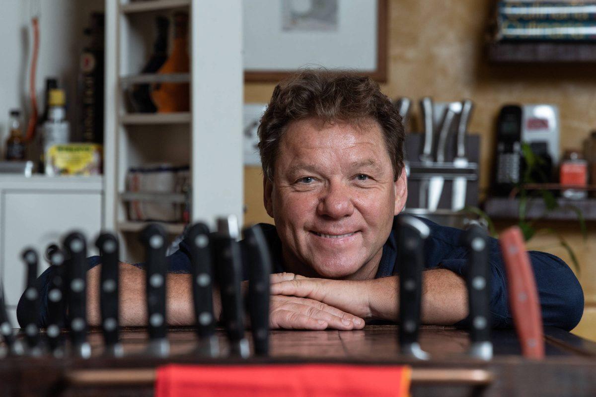 Unesc promove aula-show com o famoso chef de cozinha Claude Troisgros