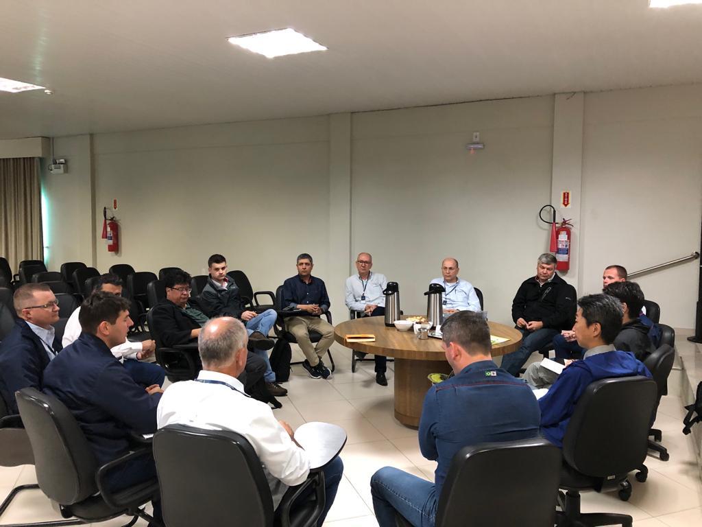 Cooperja recebe visita de acionistas da Ihara