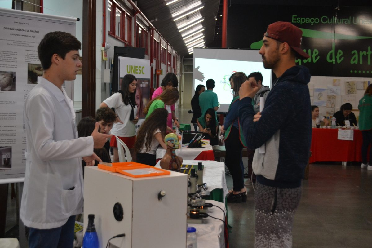 Unesc prepara a 10° Semana de Ciência e Tecnologia