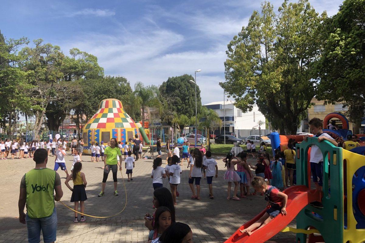 SAMAE reúne alunos para celebrar Dia das Crianças