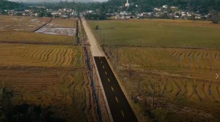 Maracajá: Empresa falha na proposta de pavimentação ao acesso Garajuva