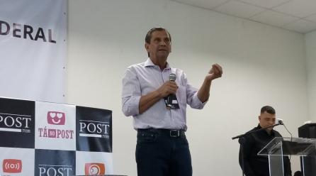 Júlio Garcia, presidente da Alesc, palestra sobre papel da bancada no desenvolvimento