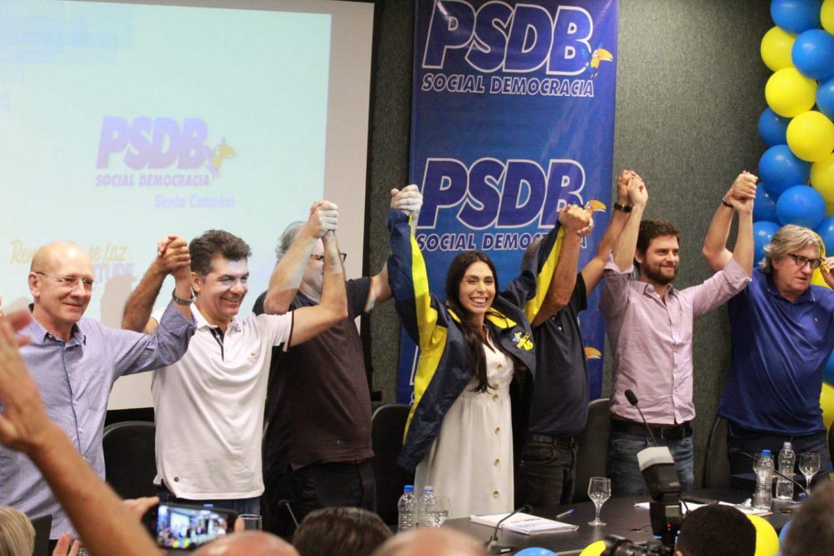 PSDB catarinense tem primeira mulher na presidência