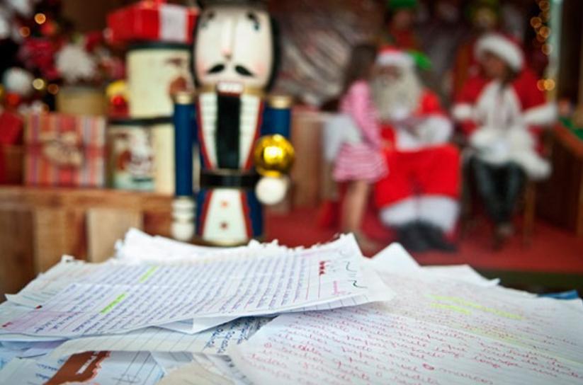 Cartas Papai Noel dos Correios estarão disponíveis nesta quinta-feira
