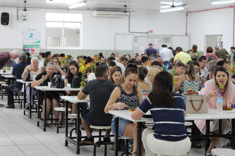 Almoço beneficente da Unesc reverteu recursos para a Casa da Infância