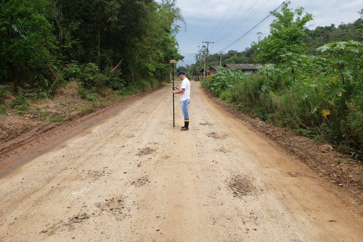 Jacinto Machado: Inicia readequação do projeto da Rodovia SC-108