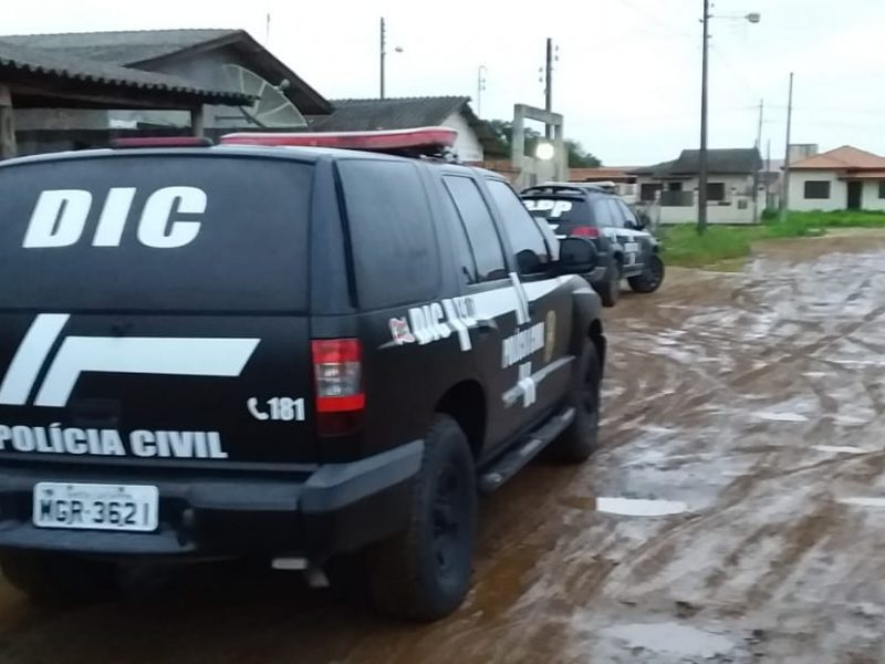 ARARANGUÁ: traficantes são presos no Arapongas