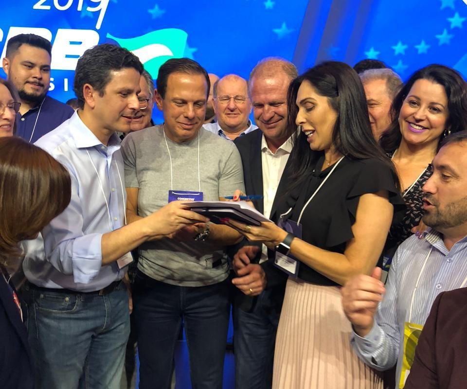 Gelson Merísio assina ficha no PSDB