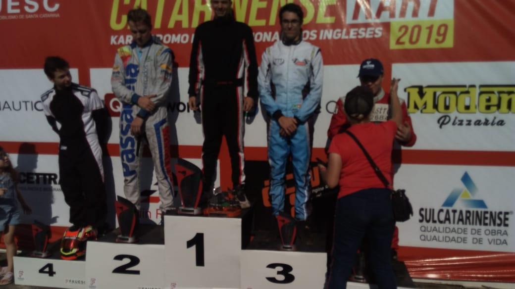 ATUALIZADA: Araranguaense campeão do Sul agora é campeão catarinense de Kart