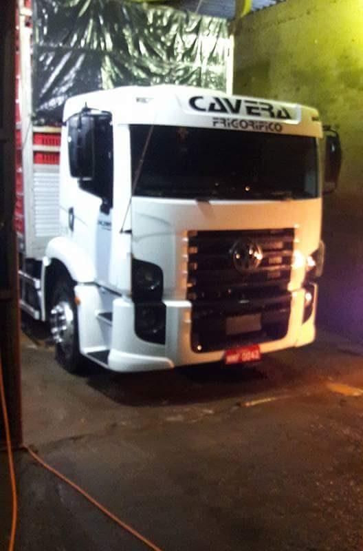 Caminhão de Araranguá roubado no Rio Grande do Sul