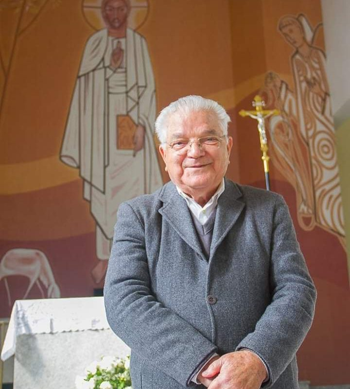 Padre de Criciúma, Ângelo Galato, falece aos 84 anos