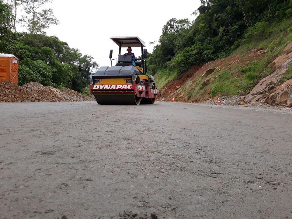 Obras na Serra da Rocinha são retomadas