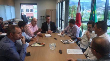 Lideranças buscam apoio para investimentos do Estado a Incubadora Tecnológica da AMESC