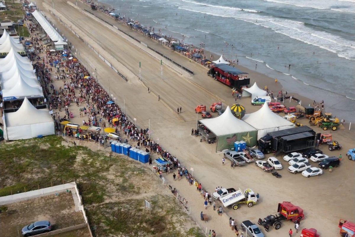XXX Arrancada tem grande público, festa dos possantes na areia, e Gedão campeão da Força Livre