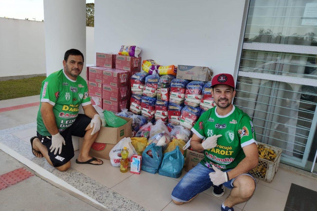 Entidades se mobilizam por doação de cestas básicas
