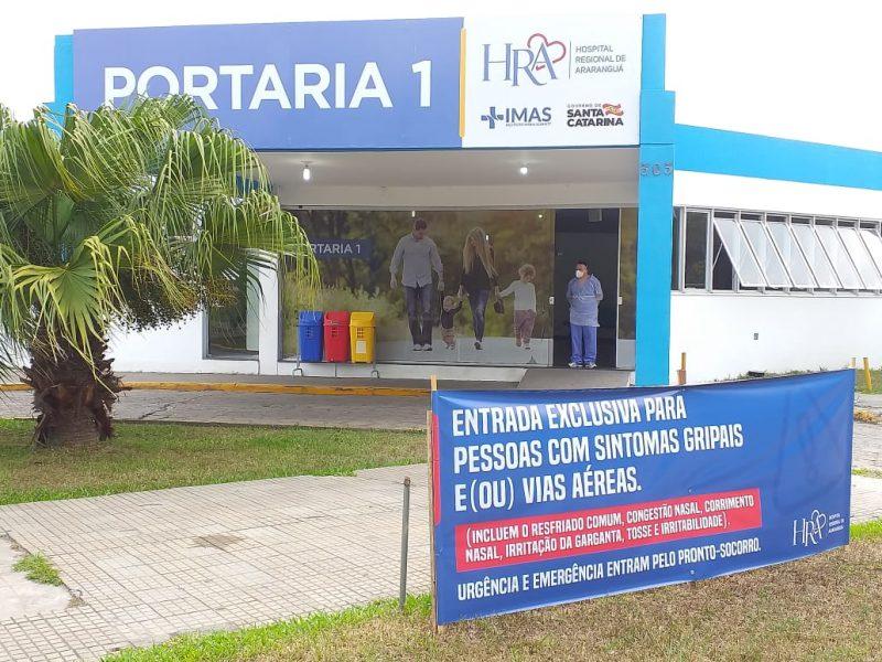 Pacientes da UTI do Hospital Regional transferidos para Amrec: medida é uma preparação para ser referência de coronavírus
