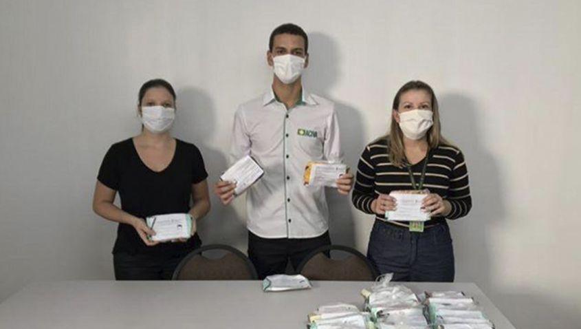 Aciva e Ifsc vão distribuir máscaras para auxiliar no combate ao Coronavírus