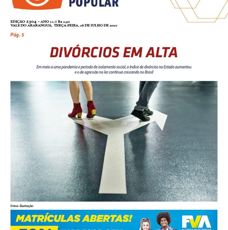 EDIÇÃO 2304 – 28/07/2020 – JORNAL ENFOQUE POPULAR