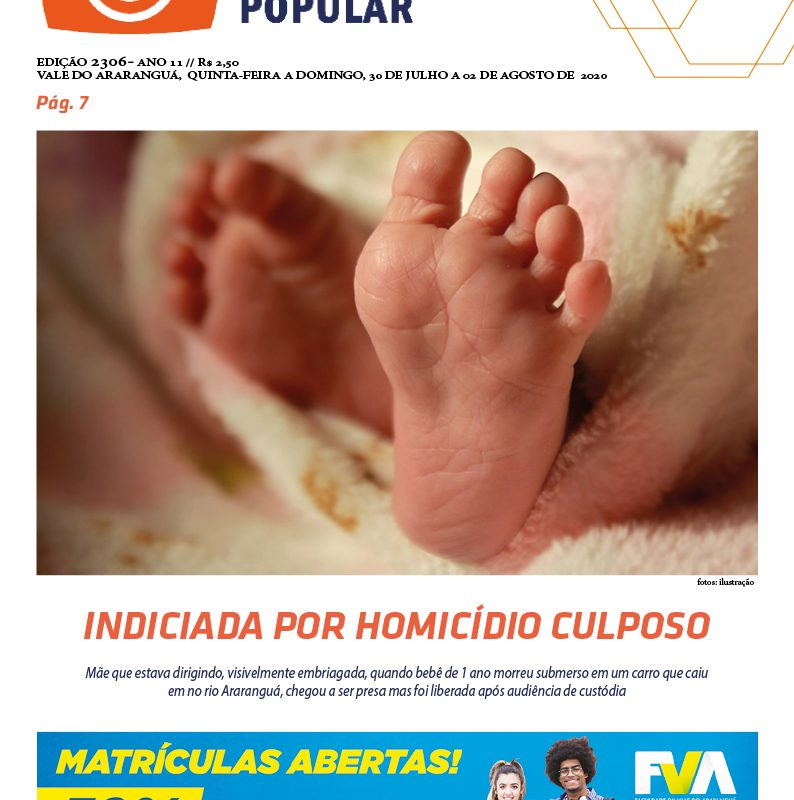 EDIÇÃO 2306 – 30/07/2020 – JORNAL ENFOQUE POPULAR