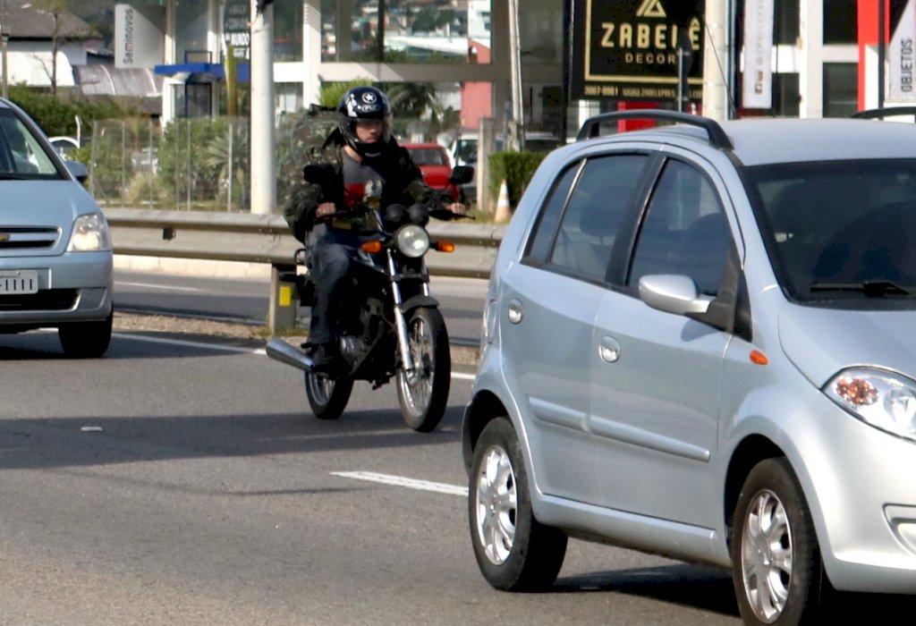 SC terá campanha permanente contra acidentes com motociclistas
