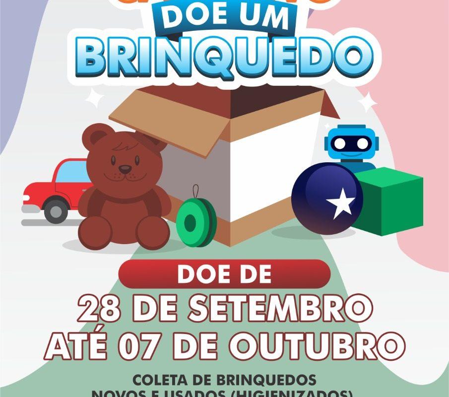 Campanha arrecada brinquedos para crianças de Araranguá e Arroio do Silva