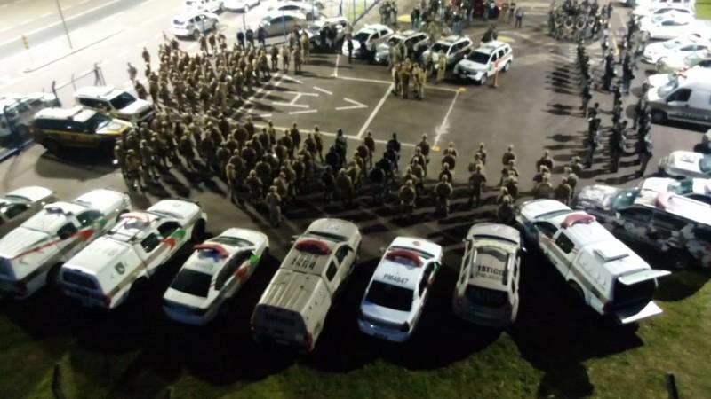 Operação conjunta da BM e PM catarinense prende 10 integrantes de organização criminosa