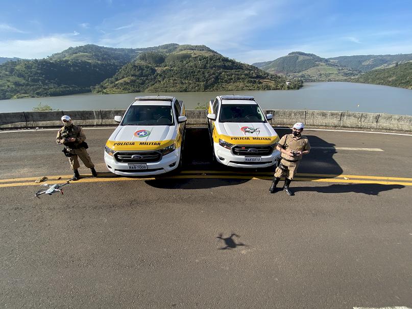 Polícia Militar Rodoviária lança programa de fiscalização por drones