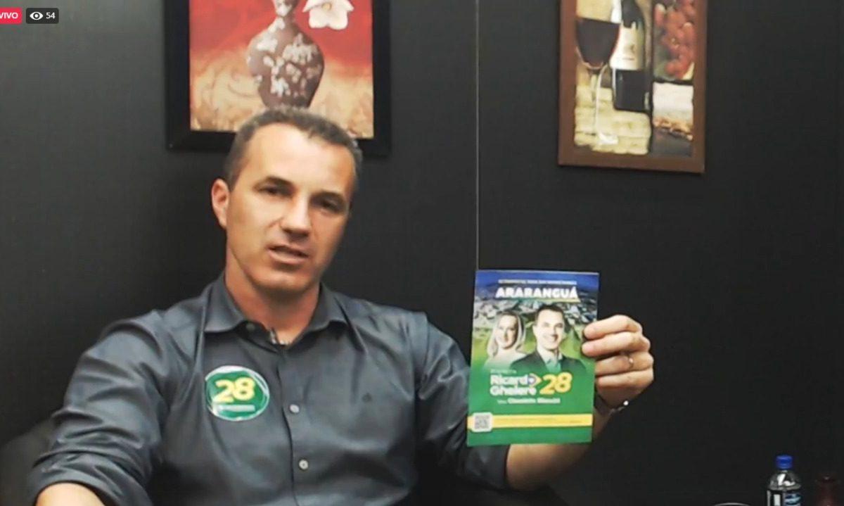 Ricardo Ghellere participa do 'Nós Informamos, Você Elege', da Post TV