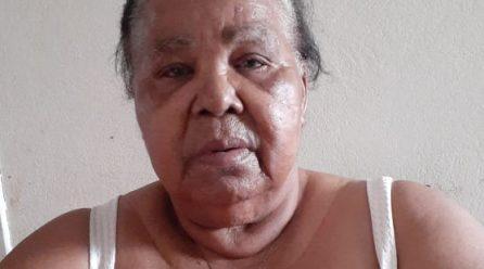 Idosa doente pede alimentos e remédios em Araranguá