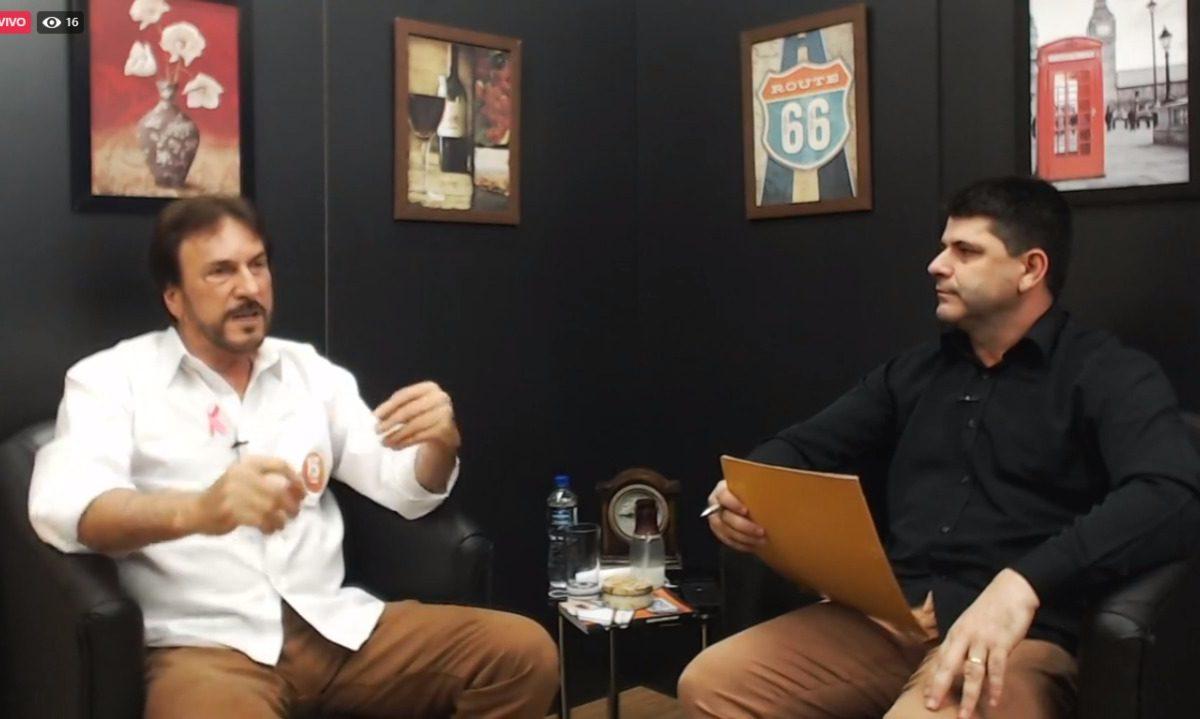 """Post TV entrevista César Cesa no """"Nós informamos, você elege"""""""