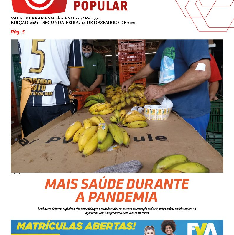Edição 2381 – 14-12-2020 / JORNAL ENFOQUE POPULAR