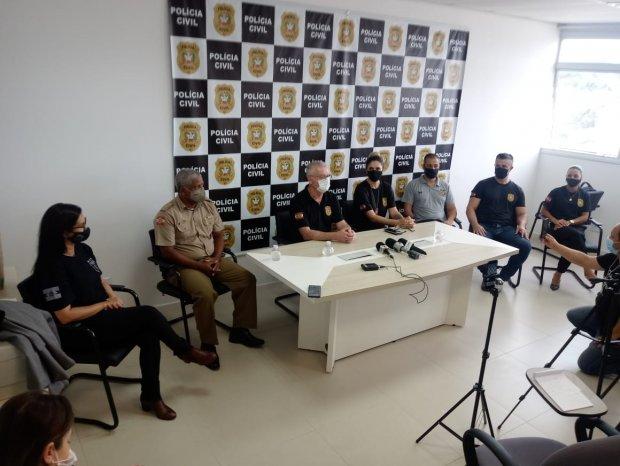 Polícia Civil localiza criança que foi sequestrada em Palhoça