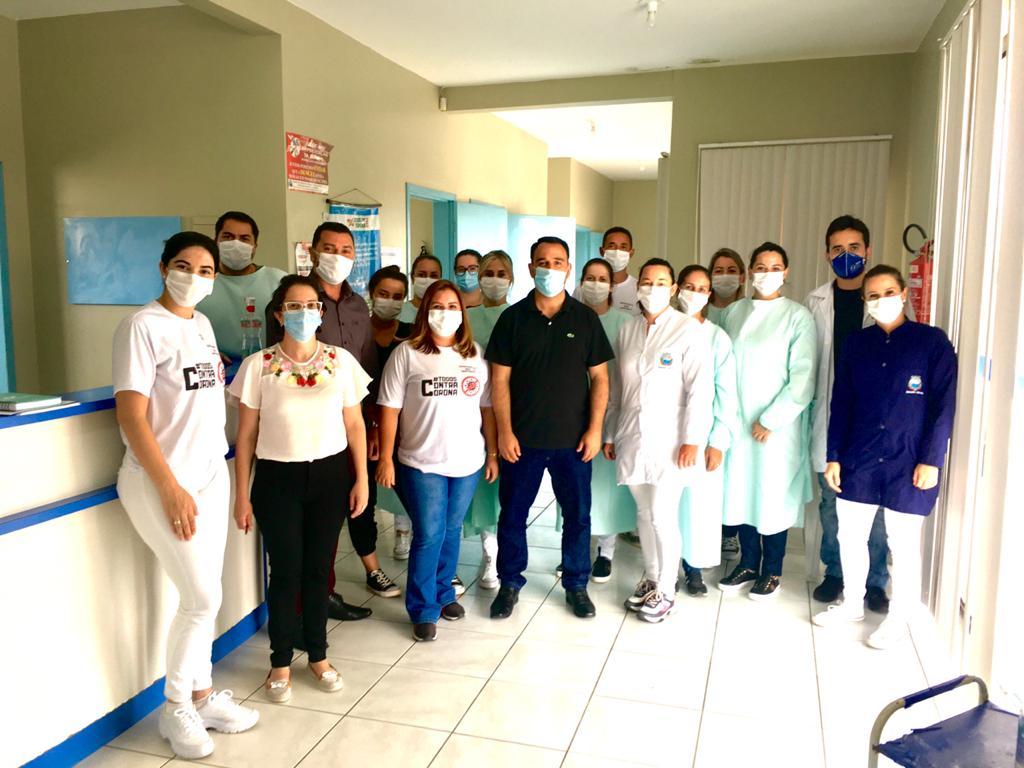 Planejamento na saúde de Balneário Gaivota no governo de Kekinha e Jonatã