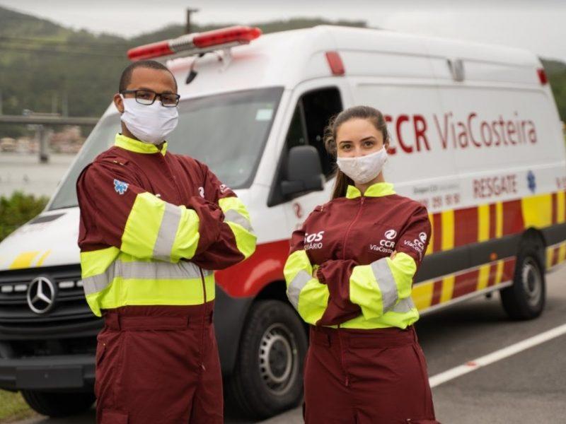 Atendimento 24 horas da CCR ViaCosteira contará com 150 profissionais